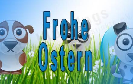 Blue:dogs Osterwünsche